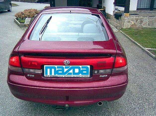 Car Mazda 626 2 0i 4wd