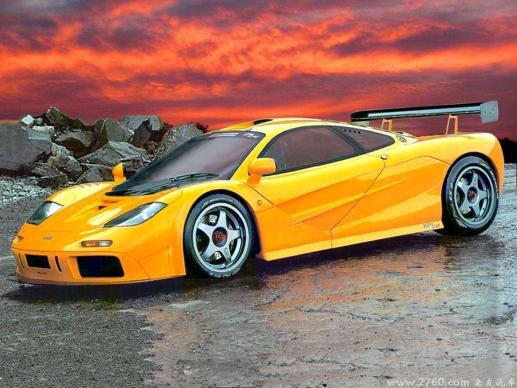 Mclaren Car Coloring Pages : Photo car: mclaren f1 lm