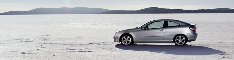 photo car: mercedes-benz c 200 kompressor sports coupe