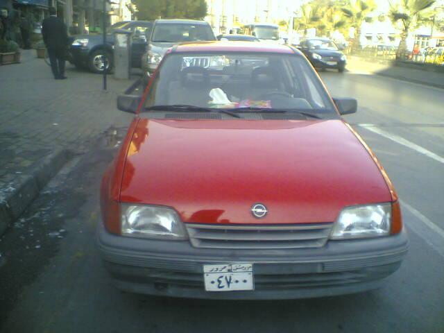 Car: Opel Kadett E Cabriolet