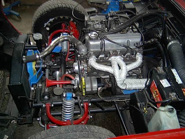 Car: tvr vixen 1.6 s3 (Car: TVR Vixen 1.6 S3)