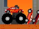 Play free game online: Monster Truck Destroyer