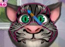 Play game free and online: Talking Tom Face Tattoo