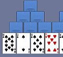 Play game free and online: Tre Peaks Solitaire