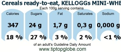 Cereals ready-to-eat, KELLOGGs MINI