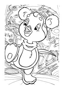 Free Coloring pages for boys and girls: For smallest ...