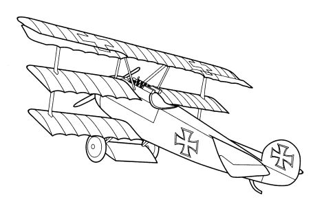 All Free Coloring pages (833) : Technique: Aircraft, airplane (24 pages)