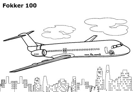 alphabet coloring sheets: Printable Airplane Coloring Pages