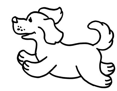 Coloring Pages  Girls on Free Coloring Pages For Boys And Girls  Animals  Dogs